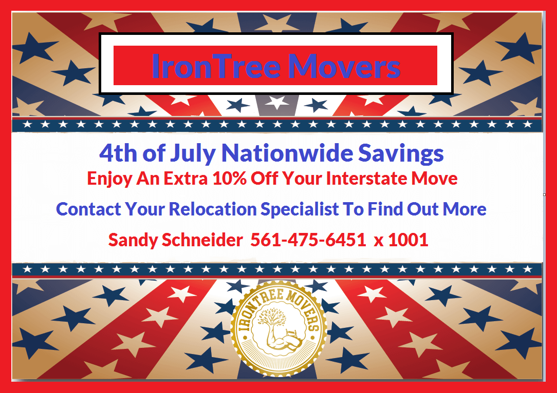 4th of july moving sale